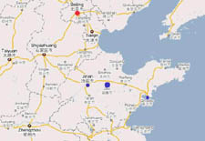 HuaMing Alumina, China, location map